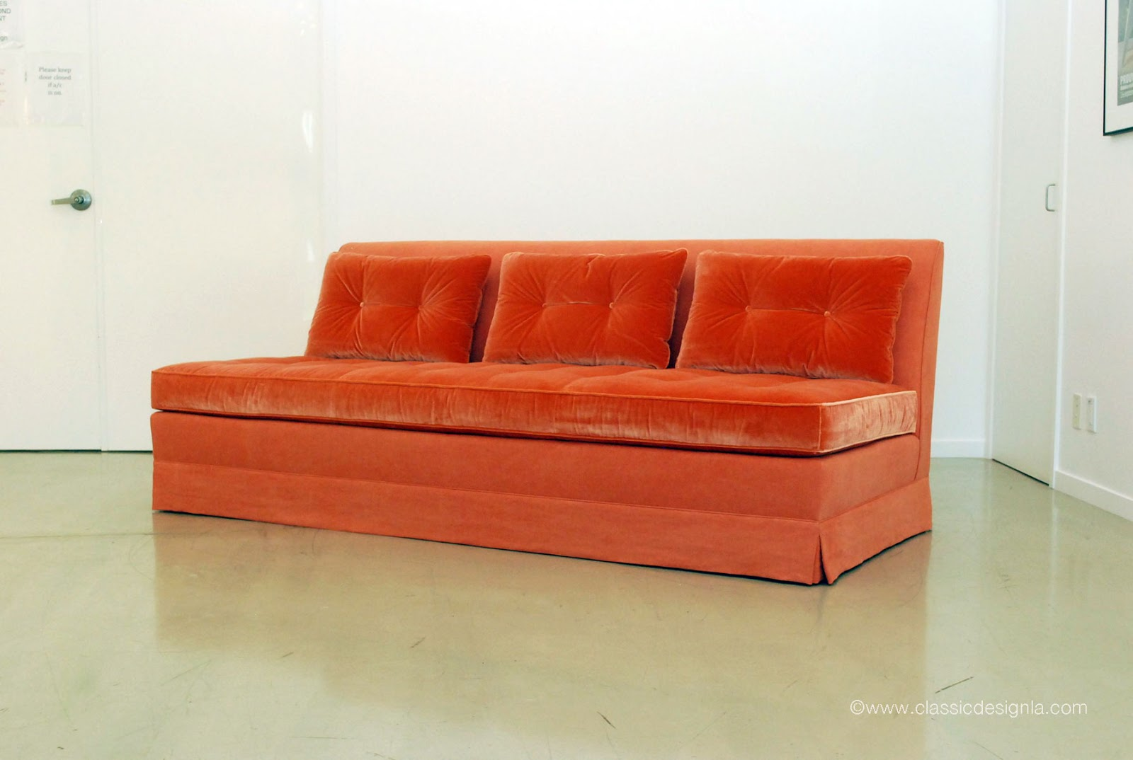 Attractive Custom Banquette Sofa