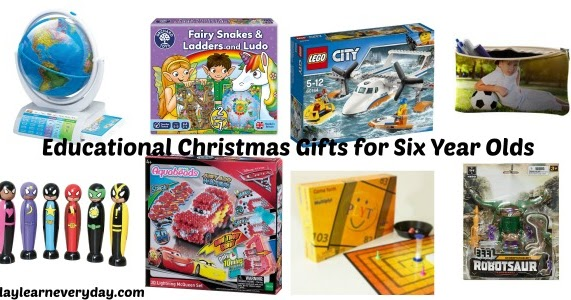 Educational Christmas Gift Ideas For A 6 Year Old