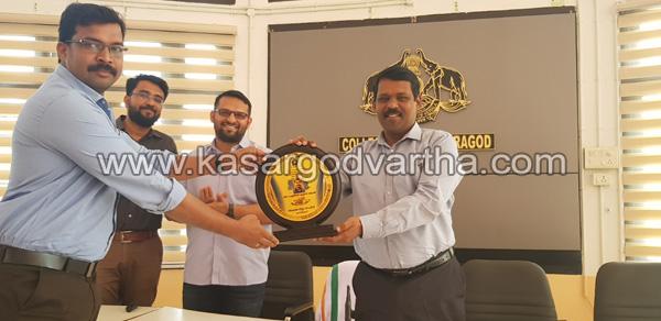 News, Kasaragod, Kerala, District Collector,E Governance Award for Kasaragod