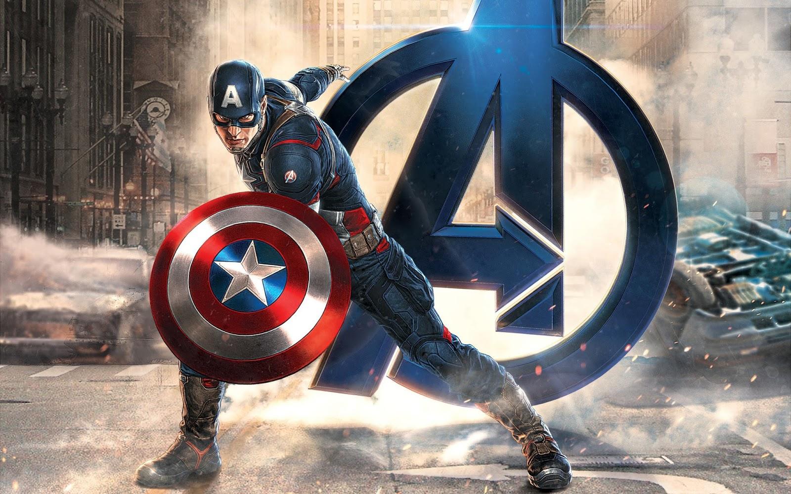 Capitán América Tarjetas O Invitaciones Para Imprimir