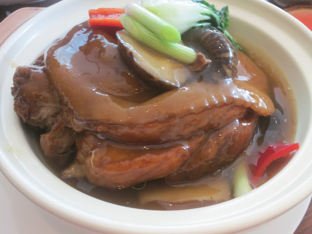 stewed pork knuckle