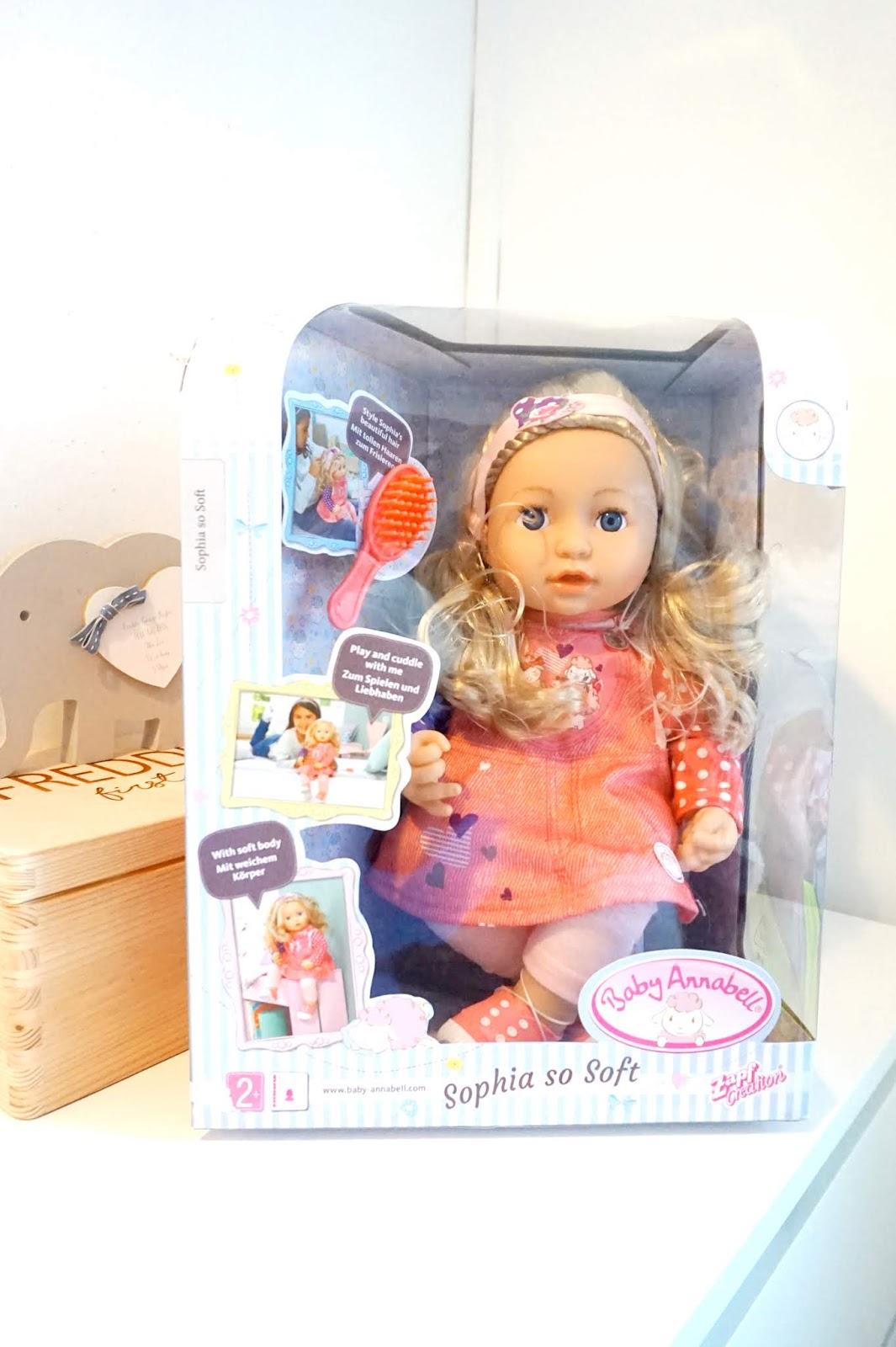 Baby Annabell Sophia So Soft Review — Beth Owen