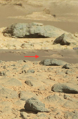 WOW! ADA PENAMPAKAN PATUNG SPHINX DI MARS?