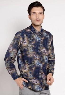 model jahitan baju batik pria terbaru