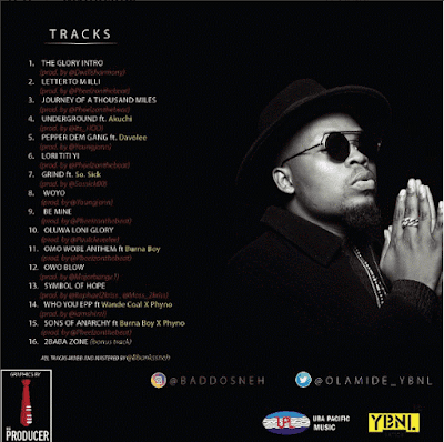 "PHOTO: Olamide- ""Underground Lyrics"" Ft. Akuchi"