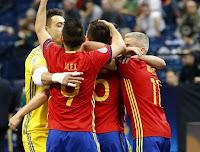 FÚTBOL SALA (Eurocup 2016) - Octava final europea para España al vencer 5-3 a los debutantes kazajos