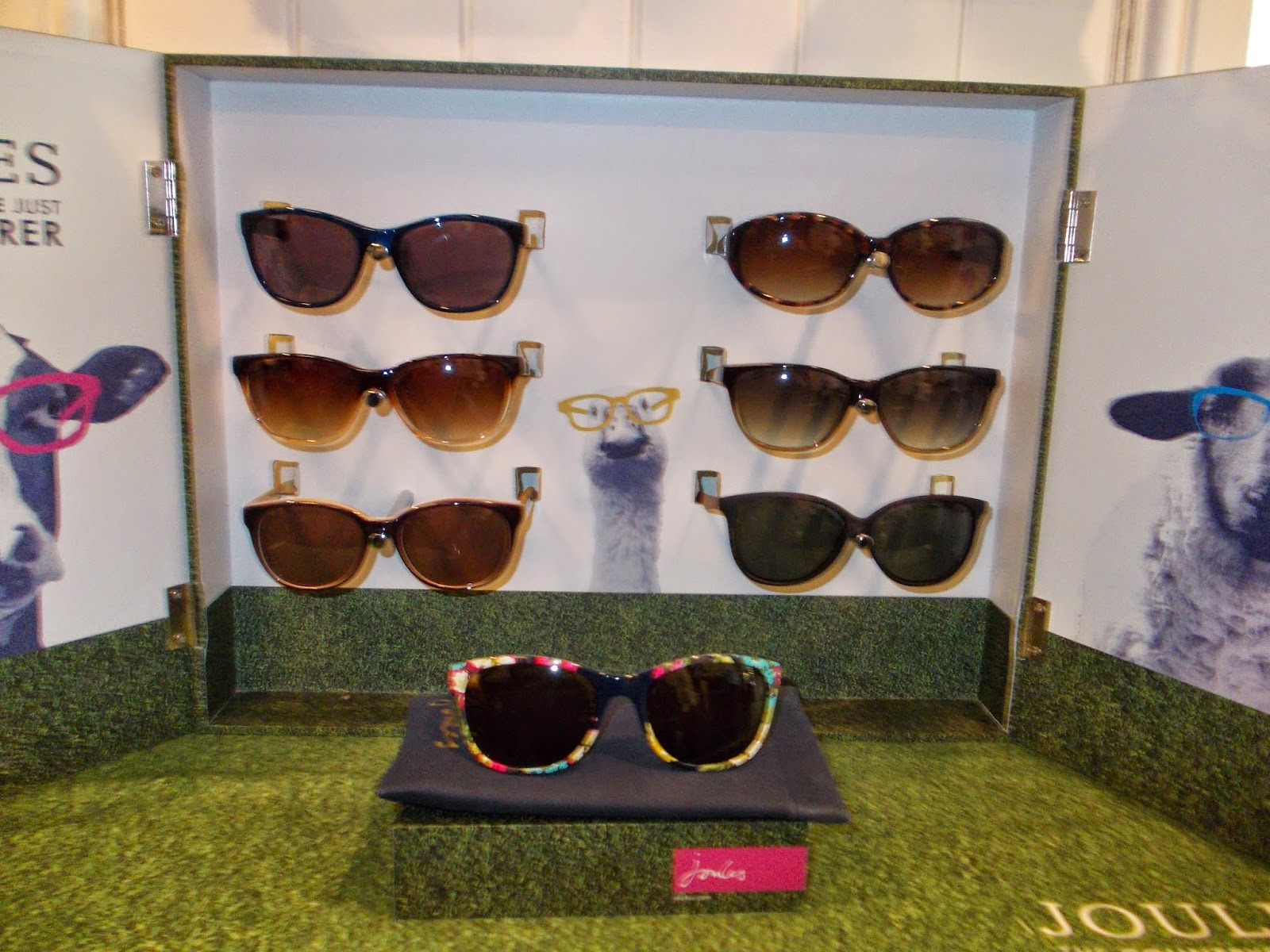 b187a9c7c32 This season Joules and Vision Express teamed up together to launch a  womenswear and kidswear range of sunglasses and optical models
