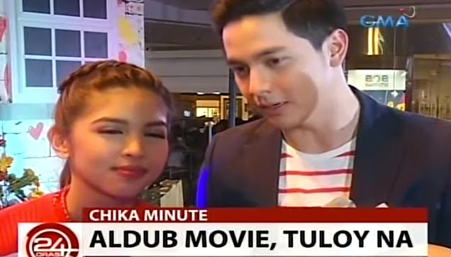 Maine Mendoza and Alden Richards confirmed their movie project