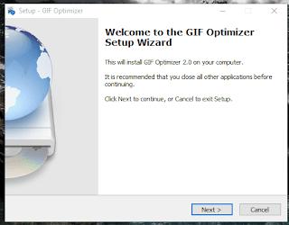compress GIF  cara kompres convert kecilkan gif