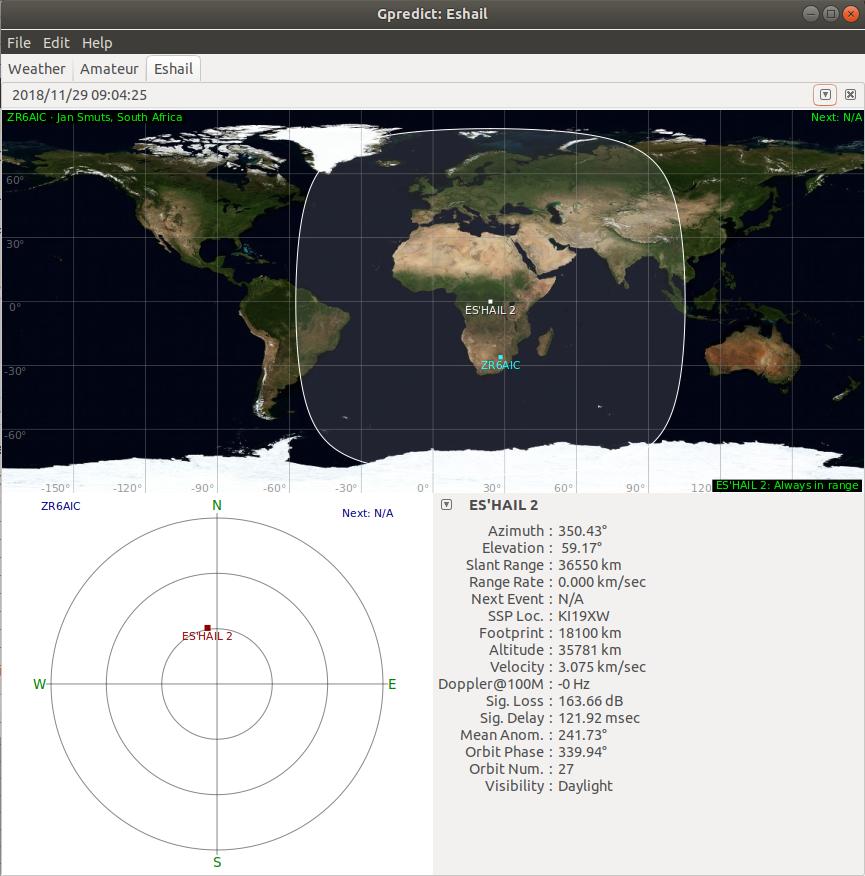 ZR6AIC: Geostationary AMSAT Satellite (Phase 4) Spacecraft