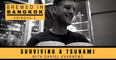 Podcast featuring Daniel Kvarnemo on being on a boat during a tsunami