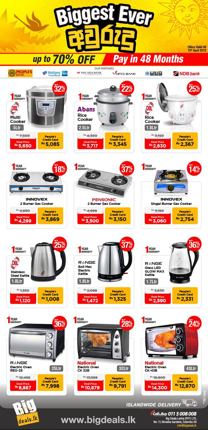 Blog Smart Emarketing Sri Lanka Special Seasonal Offers For Kitchen Appliances Buy Now