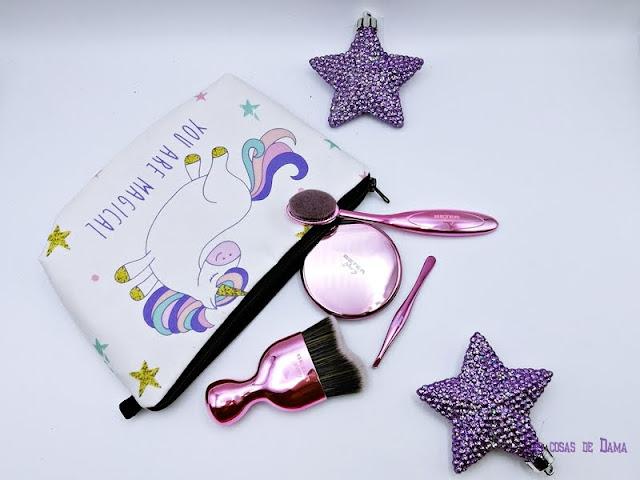 Edición Limitada Glowy Beter regalo Navidad beauty belleza accesorios pink gold silver