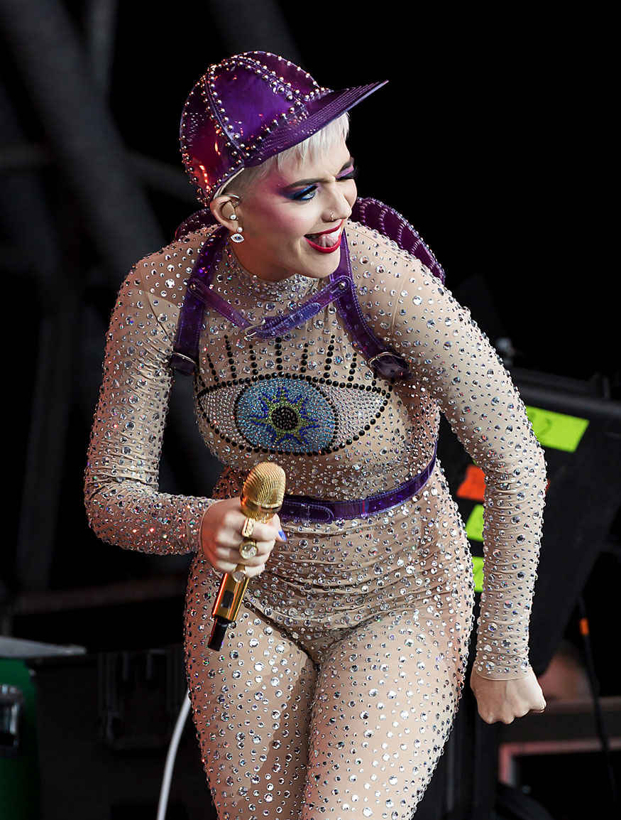 Katy Perry Sizzles at Glastonbury Festival 2017