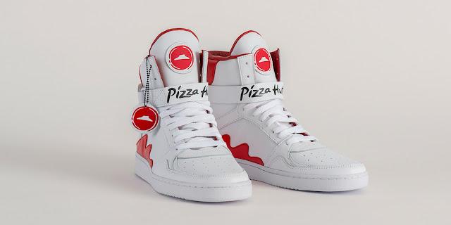Pizza Hut y unas zapatillas para pedir pizza solo presionando un botón en su lengua