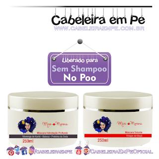 Máscara Selante Vinagre De Maçã e Máscara Hidratação Profunda - Mari Morena (No Poo)