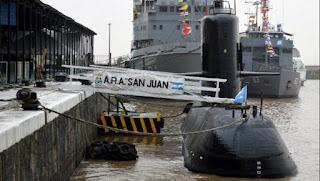 La misteriosa desaparición del submarino ARA San Juan.