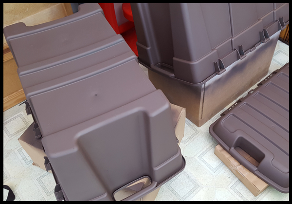 Turning Toy Boxes Brown