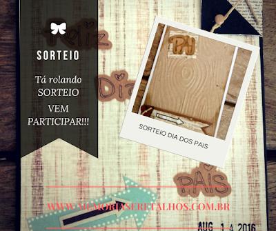 SORTEIO - Ateliê Memórias e Retalhos