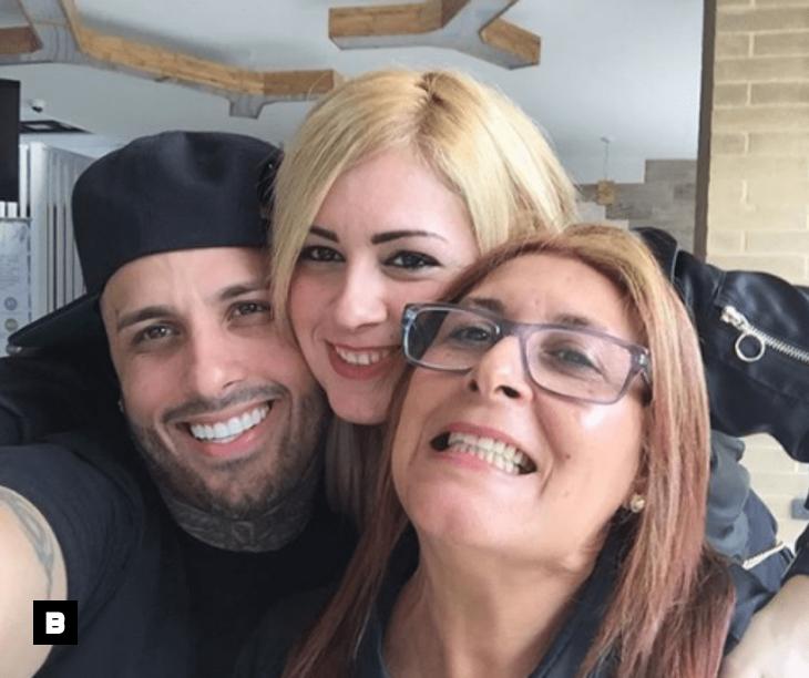 Nicky Jam encontró a su mamá 30 años después, en un show en República Dominicana