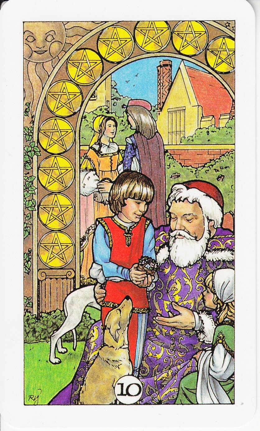 Rowan Tarot December 2012: Rowan Tarot: Save Now, Enjoy Later