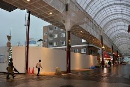 健軍商店街アーケード修復工事完了