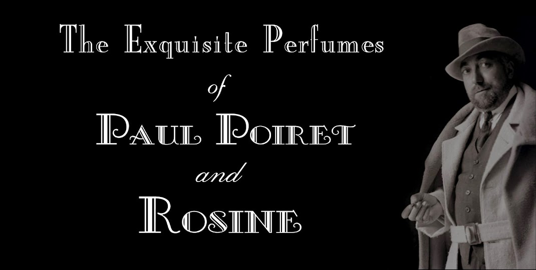 Paul Poiret and Rosine Perfumes