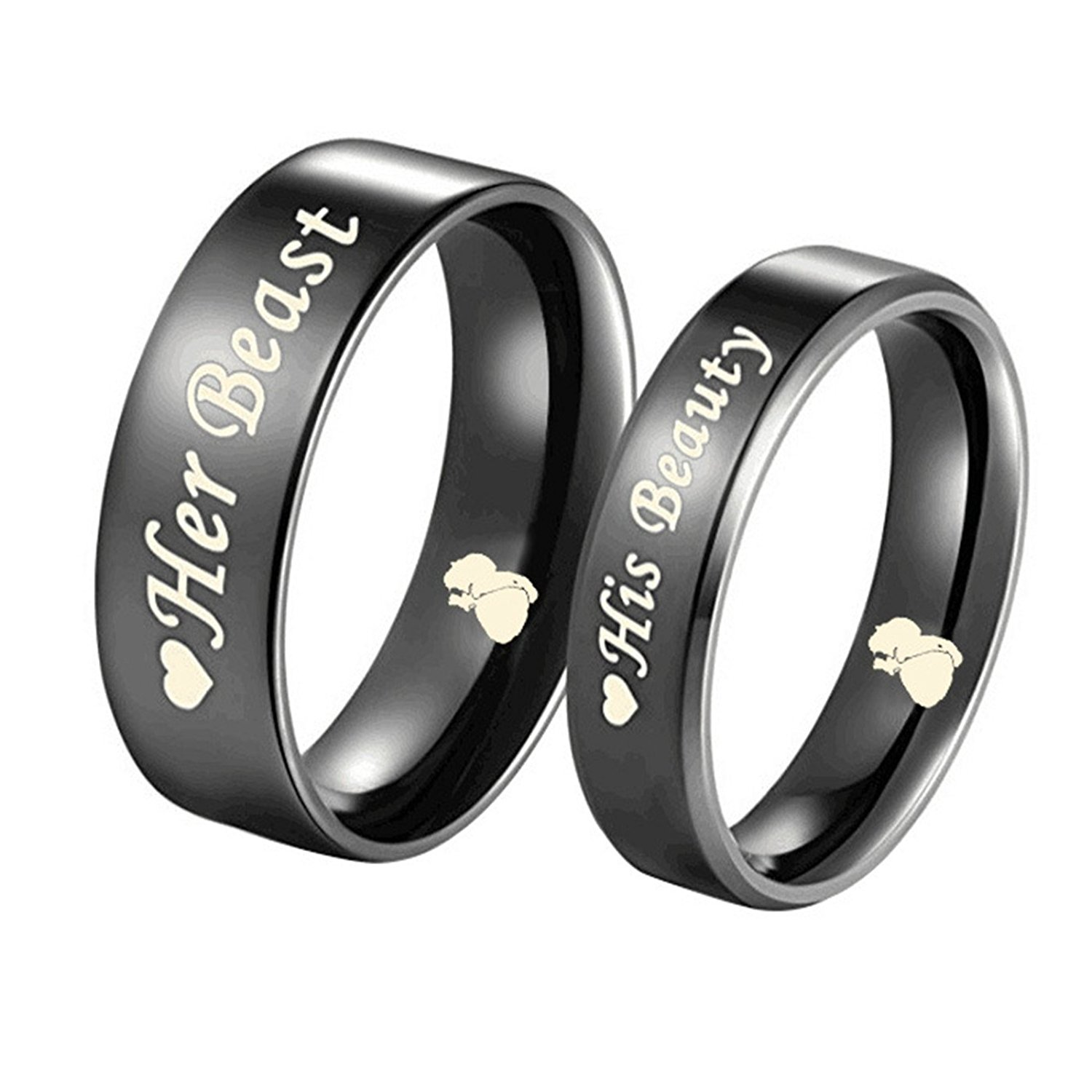 Its Trending Valentine Gift Couple Rings For Propose Day For Your