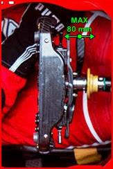 Ferrari SF70H - Leva frizione Barcellona Test Spec