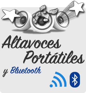 Altavoces portátiles y Bluetooth baratos