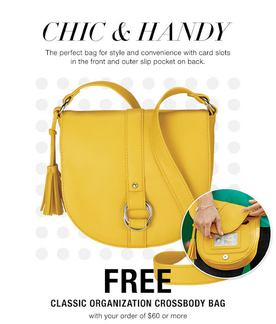 Get a FREE Avon Classic Organization Crossbody Bag with your $60 Avon purchase! Click pin for Avon coupon code. Shop https://jenbertram.avonrepresentative.com/