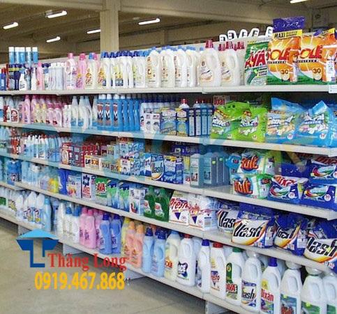 Giá kệ siêu thị trưng bày mỹ phẩm mẫu mã đẹp, giá rẻ