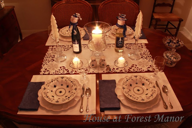 House At Forest Manor First Tablescape Re Posted And