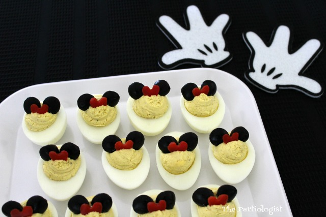 minnie mouse deviled eggs