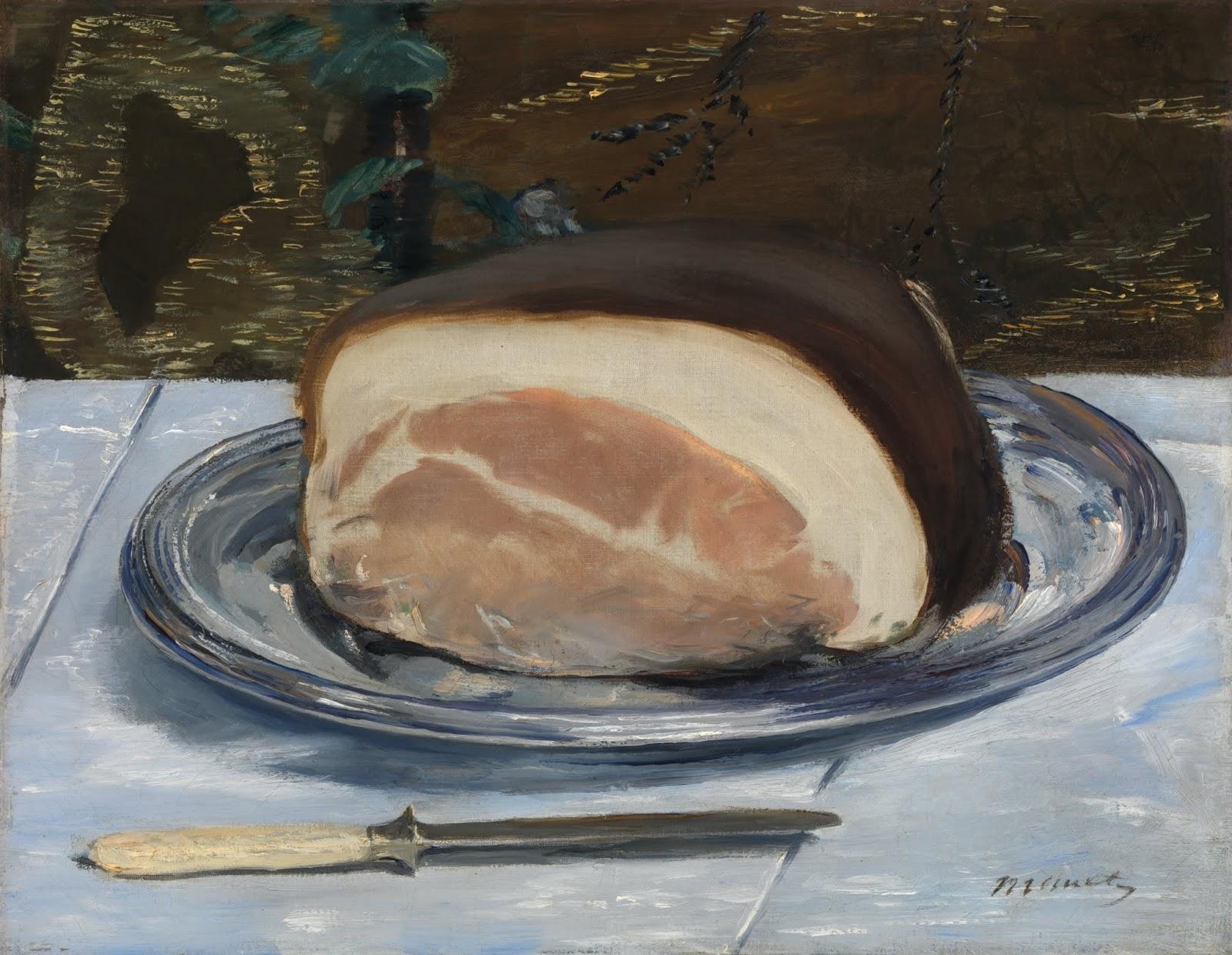 Картинки по запросу le jambon edouard manet