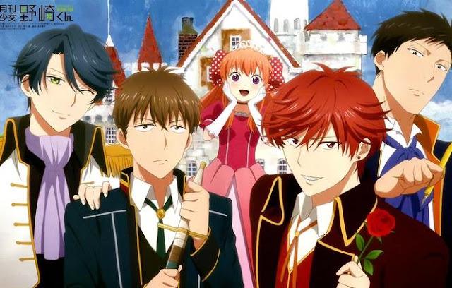 Daftar Anime School Comedy Terbaik dan Terpopuler - Gekkan Shoujo Nozaki-kun