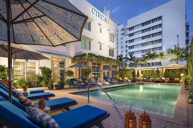 Circa 39 Hotel Miami Beach is a chic, boutique hotel located in the heart of Miami Beach, just steps away from the beach.