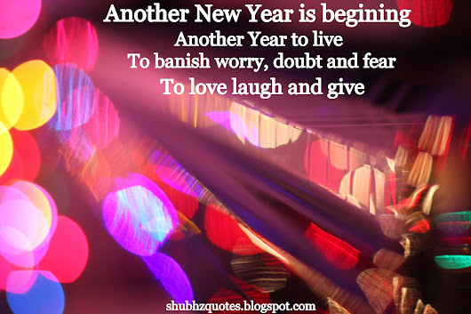 Happy New Year Quotes In pictures ~ shubhz