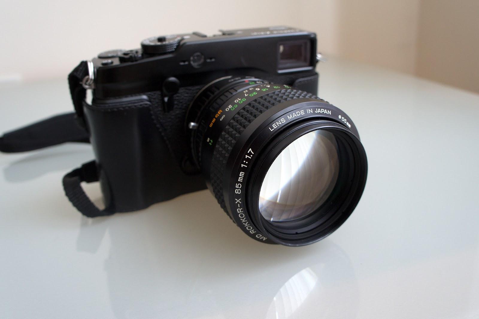vk photo blog: X-PRO 1 + MD ROKKOR-X 85mm 1:1 7 (part 1)
