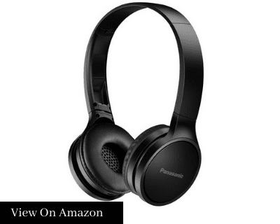 Panasonic RP-HF400B-K On-ear Bluetooth Headphones