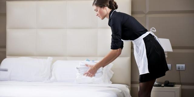 Ζητείται καμαριέρα για full time απασχόληση σε ξενοδοχείο στο Ναύπλιο