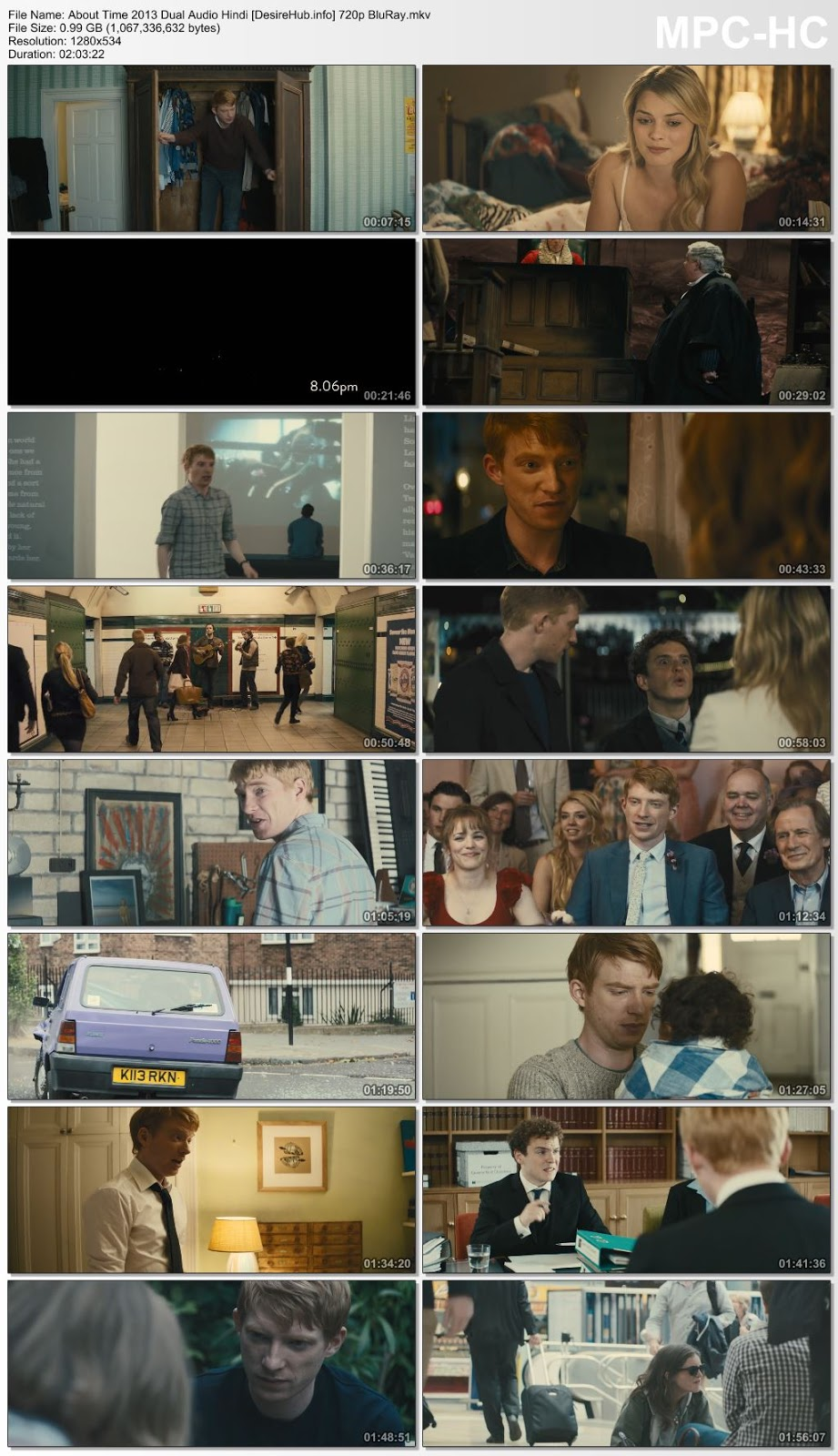 About Time 2013 Dual Audio Hindi 480p BluRay 350MB Desirehub