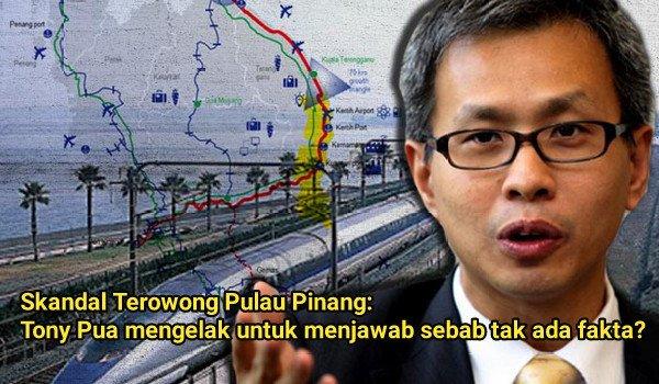[Video] Skandal Terowong Pulau Pinang: Tony Pua mengelak untuk menjawab sebab tak ada fakta?