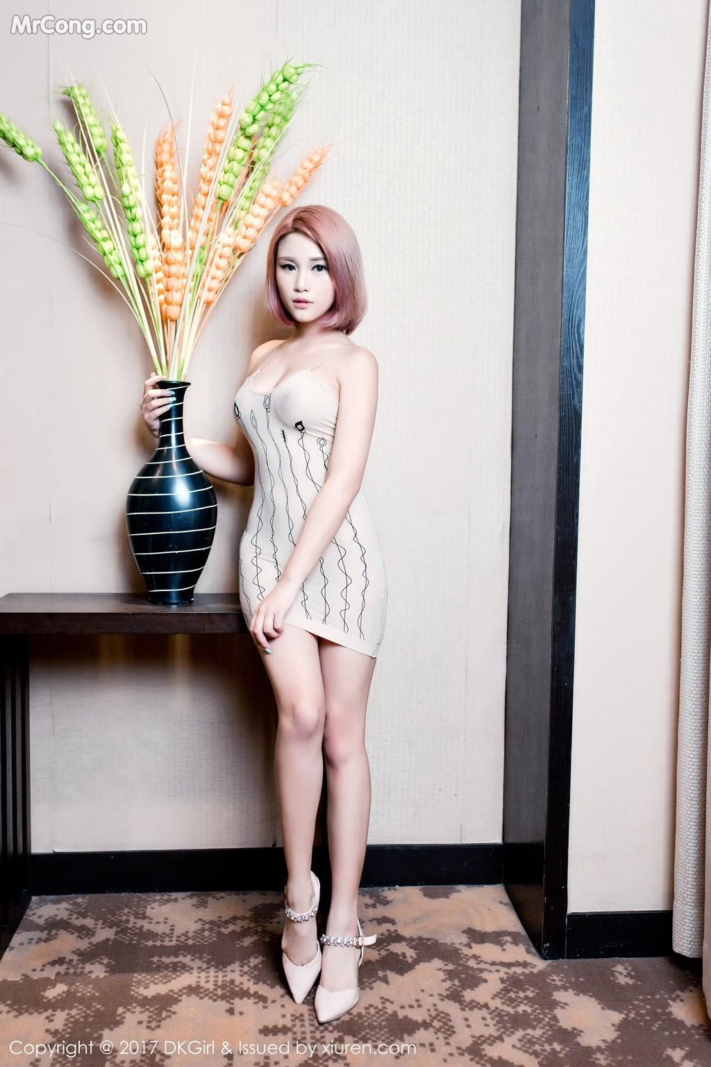 Image DKGirl-Vol.045-Meng-Bao-Er-BoA-MrCong.com-025 in post DKGirl Vol.045: Người mẫu Meng Bao Er (萌宝儿BoA) (56 ảnh)