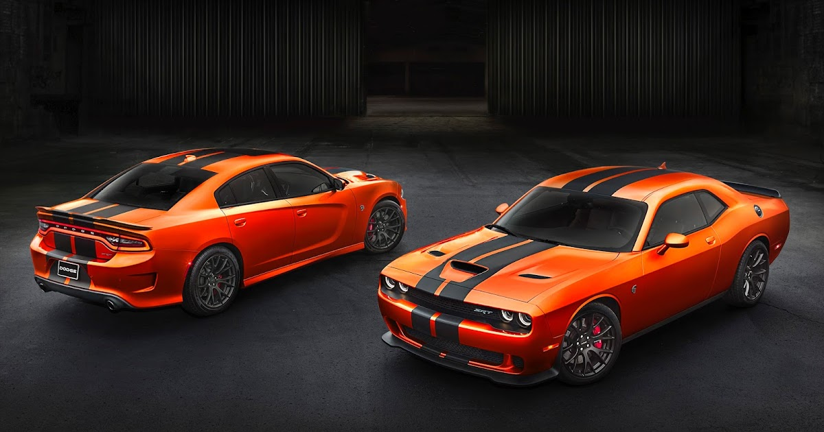 Dodge offers Go Mango Charger and Challenger