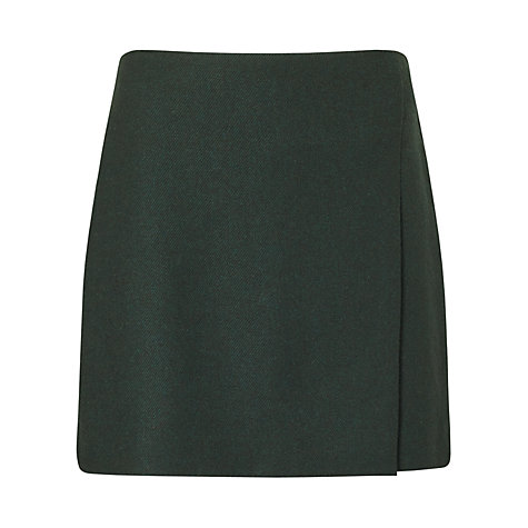 Jigsaw Green Twill Skirt