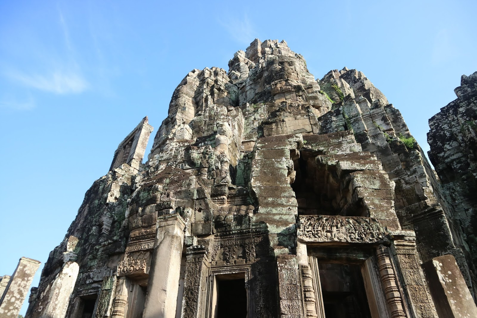 One of the towers of Bayon Temple