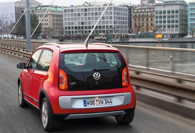 2013 Volkswagen Cross Up Rear Angel