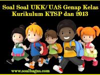 Kumpulan Soal UKK/ UAS Kelas 5 Semester 2 Terbaru