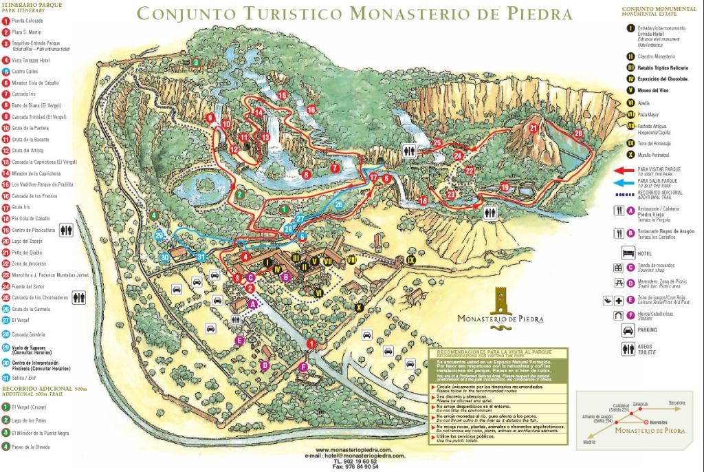 El Blog De Marga Parque Natural Monasterio De Piedra